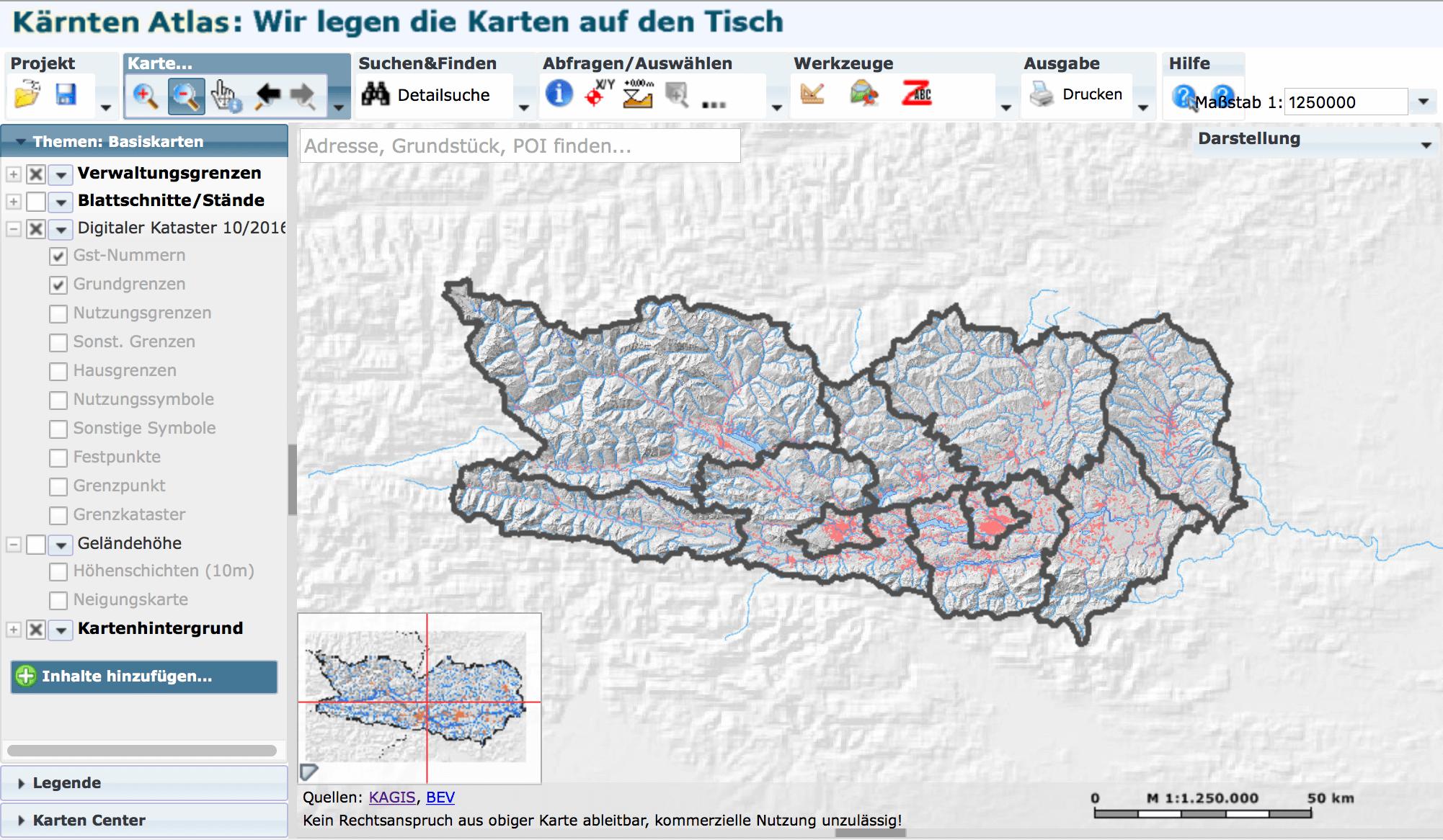 KAGIS – Kärnten Atlas
